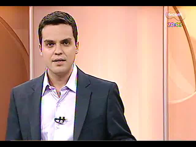 TVCOM 20 Horas - Em dois anos, o terceiro anúncio do metrô em Porto Alegre - Bloco 1 - 11/10/2013
