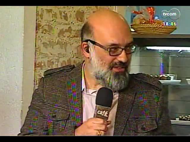 Café TVCOM - Um bate papo com a colunista de Zero Hora Carol Bensimon direto da Spritzeria Pane & Spritz - Bloco 4 - 19/10/2013