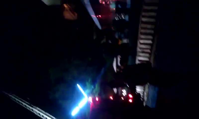 Imagens do incêndio na Sogipa - 25/10/2013