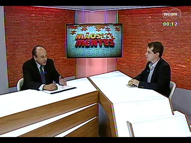 Mãos e Mentes - Promotor de Justiça, responsável pela Operação Leite Compensado, Mauro Rockembach - Bloco 4 - 12/11/2013