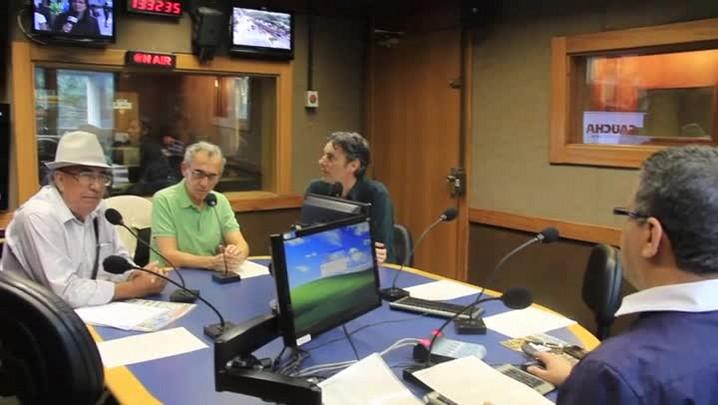 Participantes do Sala de Redação falam sobre San Lorenzo e Grêmio. 23/04/2014