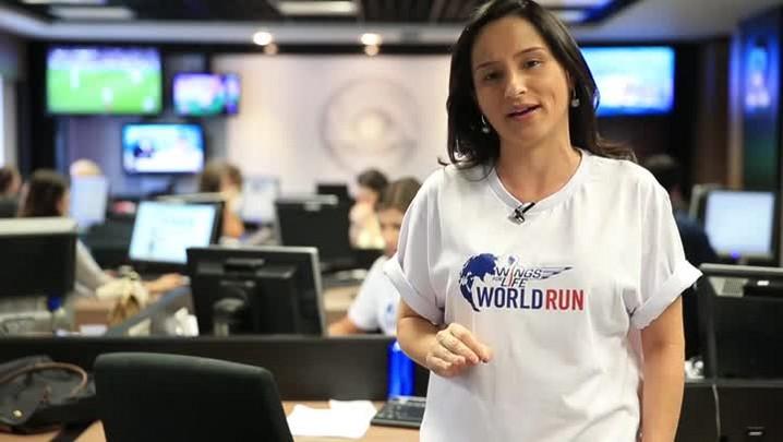 Sônia Campos faz um convite especial para a Wings For Life World Run