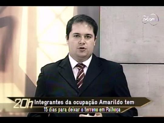 TVCOM 20 Horas - Mais detalhes da história da recém nascida abandonada em Florianópolis - Bloco 3 - 16/06/14