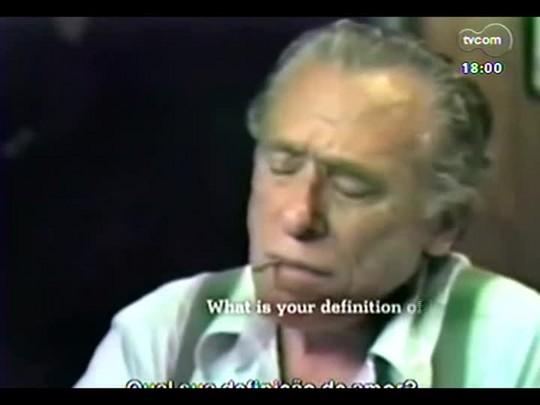 """Programa do Roger - Roberto de Oliveira, diretor e ator de \""""Bukowski - Histórias da vida subterrânea\""""- Bloco 2 - 15/07/2014"""