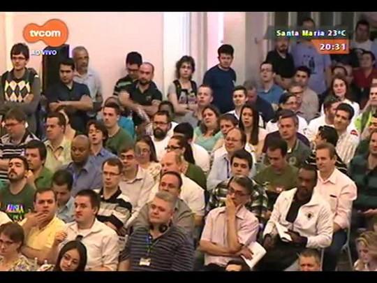 TVCOM 20 Horas - As informações das eleições do Grêmio direto do Olímpico - Bloco 3 - 07/10/2014