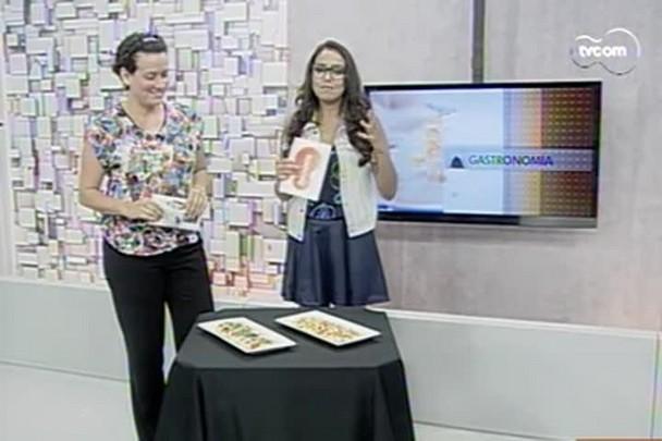 TVCOM Tudo+ - Flatbread: aperitivo crocante é novidade do verão - 27.1.15