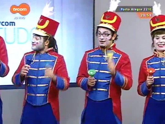 TVCOM Tudo Mais - Orquestra de Brinquedos alegra o palco do Tudo +