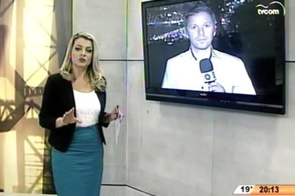 TVCOM 20 Horas - Escolas de Florianópolis passam a ser monitoradas por câmeras - 30.04.15