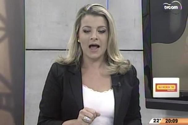 TVCOM 20 Horas - Amanhecer mais gelado do ano em toda serra catarinense - 08.05.15