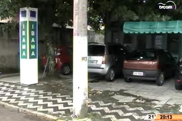 TVCOM 20 Horas - A Defesa Civil pode interditar cede do Ibama em Itajaí - 25.05.15