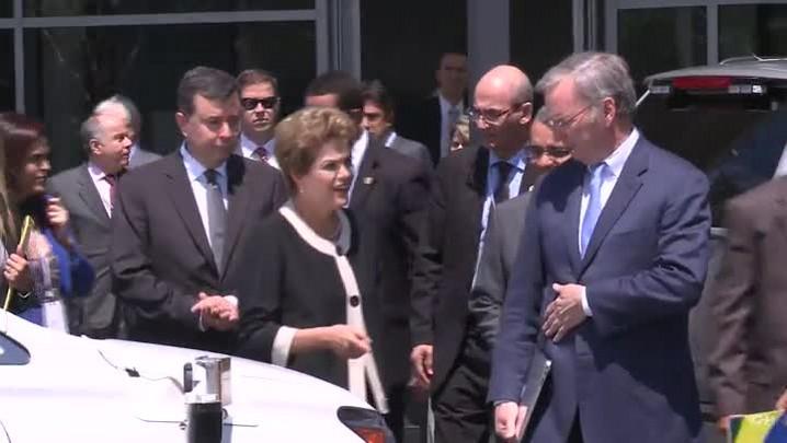 Dilma visita a Google