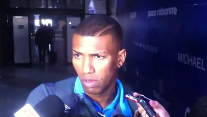 """Walace comenta convocação à Seleção: \""""Fico muito feliz\"""""""