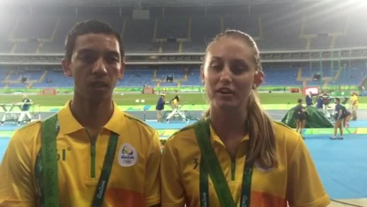 Joinvilenses comentam o clima nas Olímpiadas do Rio 2016