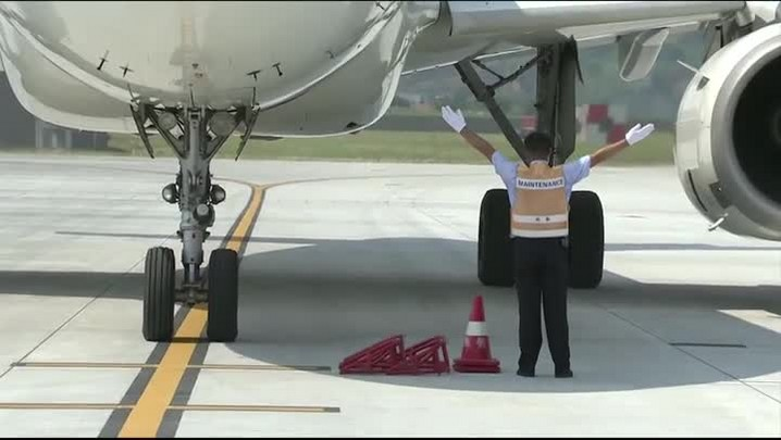 Michel Temer chega à China para G20