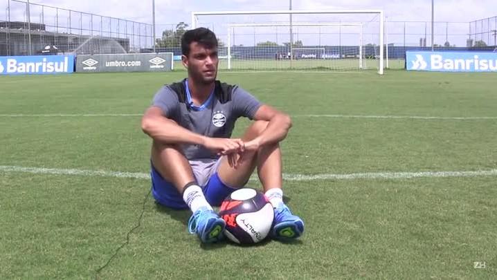 Rafael Thyere fala sobre responsabilidade de substituir Geromel no Grêmio