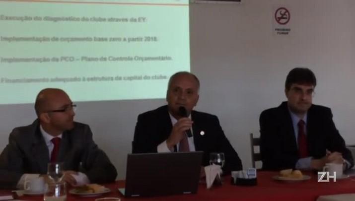 Marcelo Medeiros fala sobre as contas do do Inter