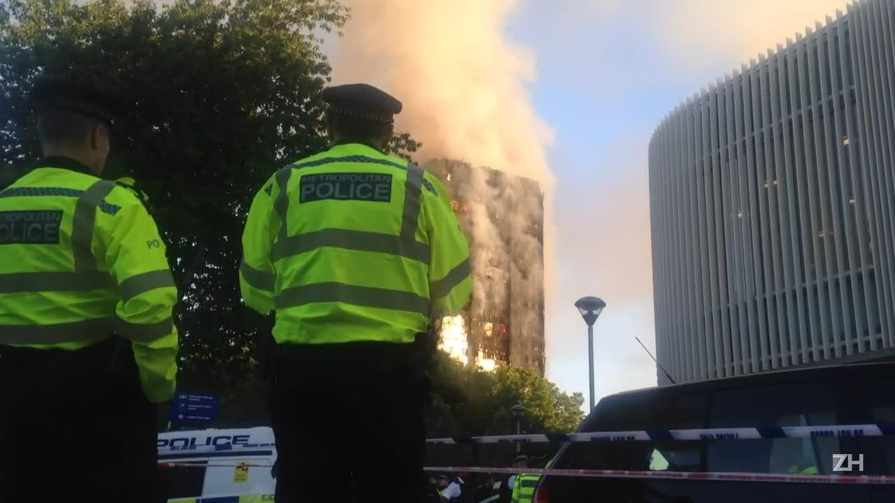 Incêndio deixa vários mortos em Londres