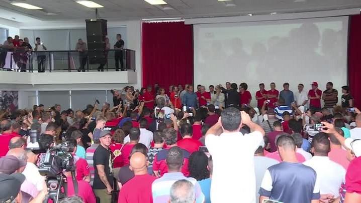 Lula se diz 'extremamente tranquilo'