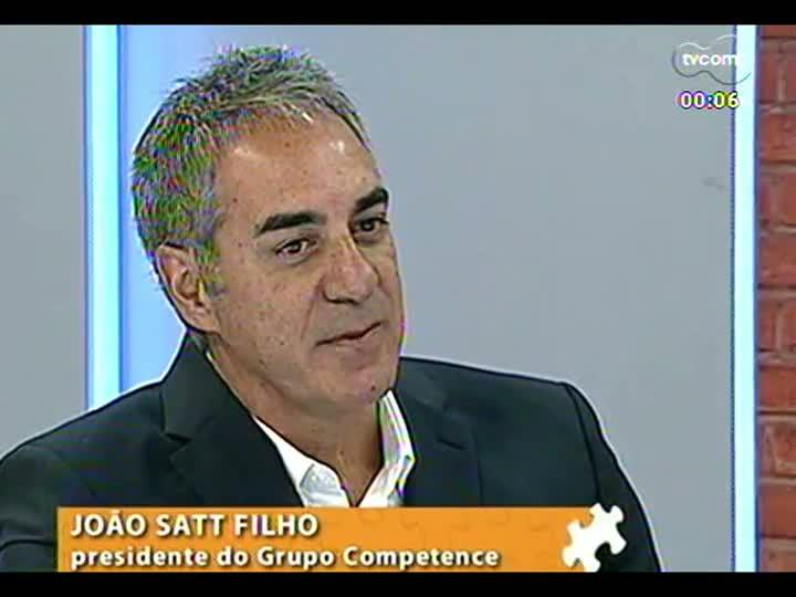 Mãos e Mentes - Estrategista de negócios e marcas e presidente do grupo Competence, João Satt Filho - Bloco 4 - 26/03/2013
