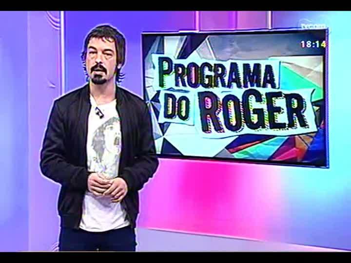 Programa do Roger - Confira a participação da banda Comunidade Nin-Jitsu - bloco 3 - 11/04/2013