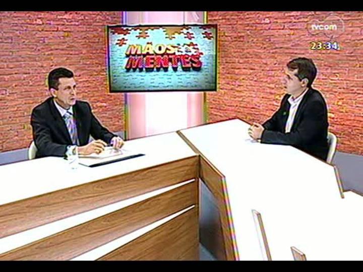Mãos e Mentes - Presidente da Associação das Empresas Brasileiras de Tecnologia da Informação, Robinson Oscar Klein - Bloco 1 - 24/03/2013