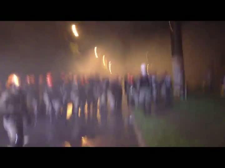 Manifestantes são detidos durante protesto na Av. Ipiranga. 20/06/2013