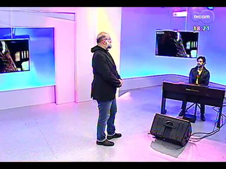Programa do Roger - Músico Luciano Leães lança clipe \'Tit for tat\' - bloco 4 - 08/07/2013