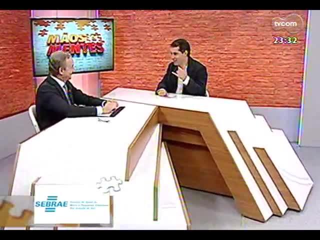 Mãos e Mentes - Sócio da Consultora PwC Brasil, Carlos Biedermann - Bloco 2 - 25/09/2013
