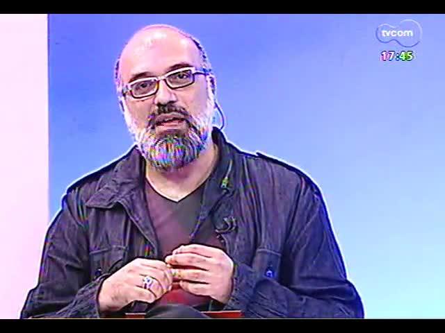 Programa do Roger - Professor de história da arte Fernando Cocchiarale fala sobre seminário dedicado à curadoria - bloco 1 - 02/10/2013