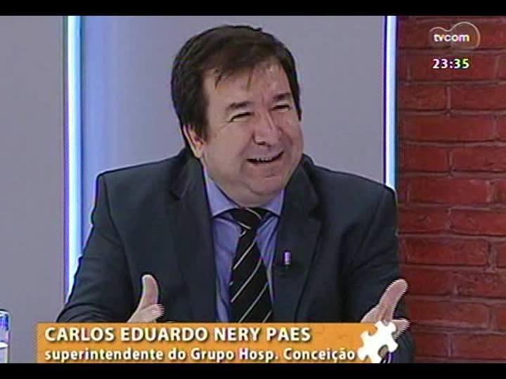 Mãos e Mentes - Diretor-superintendente do Grupo Hospitalar Conceição, Dr. Nery Paes - Bloco 1 - 21/11/2013