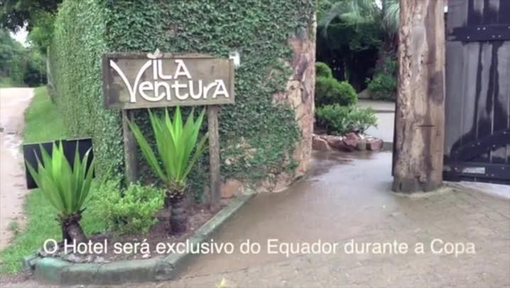 Super-Repórter mostra o Hotel Vila Ventura. 17/01/2014