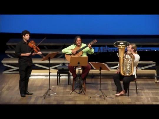 Violonista compõe peças em homenagem ao Femusc e à Jaraguá do Sul
