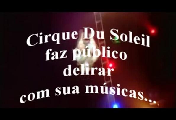 Cirque Du Soleil encanta público com sua música - 08/03/2014