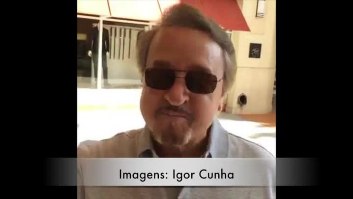 Kiko, do seriado Chaves, manda recado para torcedor gremista. 16/03/2014