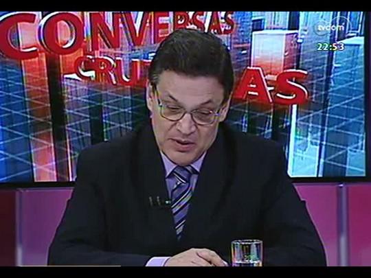 Conversas Cruzadas - Debate sobre o rebaixamento da nota da economia brasileira - Bloco 3 - 27/03/2014