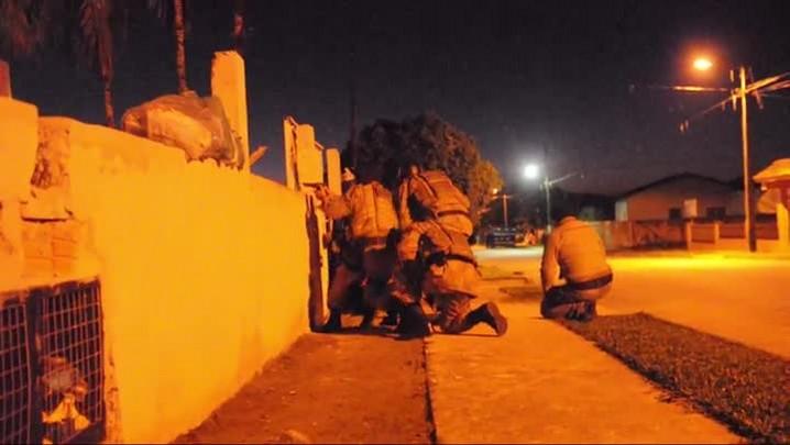 Dupla é presa por homicídio em operação com mais de 20 policiais em Garuva