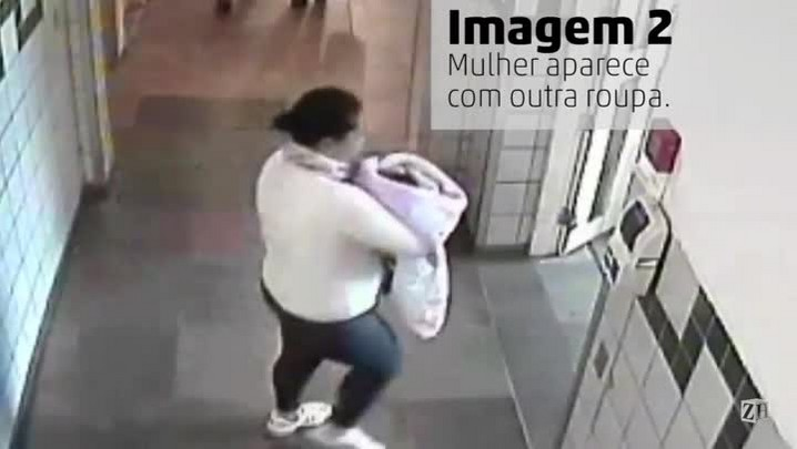 Mulher leva recém-nascido de hospital em Porto Alegre