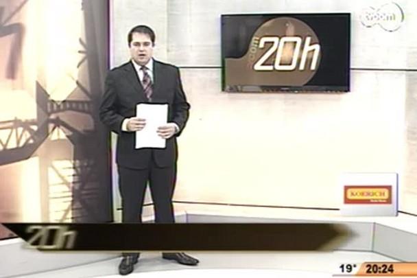 Tvcom 20 Horas - Mais um capítulo da novela Ponte Hercílio Luz - Bloco 2 - 26/06/14