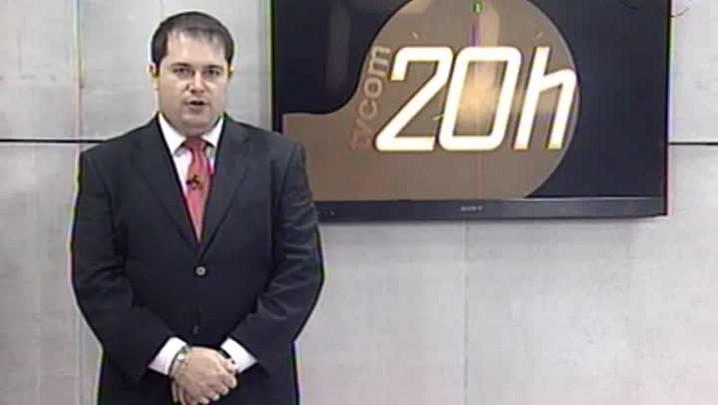 TVCOM 20 Horas - Onda de Ataques em SC Continua - 3ºBloco - 01.10.14