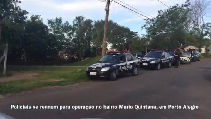 Polícia Civil realiza operação em bairro de Porto Alegre com toque de recolher