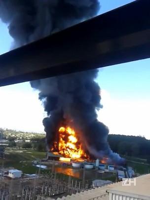 Incêndio atinge usina termelétrica em Candiota
