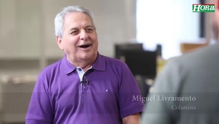 """Miguel Livramento: \""""O time do Joinville tá bem, mas o goleiro toma uns golzinhos...\"""""""