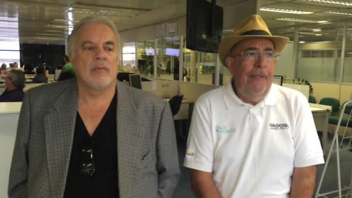 Cacalo e Kenny trocam farpas ao falar sobre o Gre-Nal deste domingo