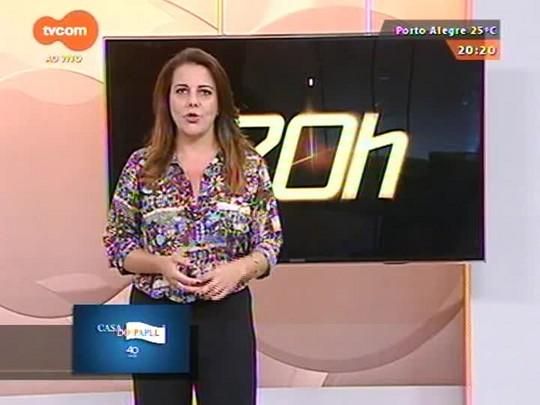 TVCOM 20 Horas - Cinco pessoas foram presas em Caxias do Sul por fraudes com cartões - 12/03/2015
