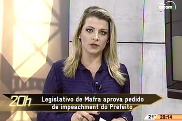 TVCOM 20 Horas - Legislativo de Mafra aprova pedido de impeachment do Prefeito - 05.06.15