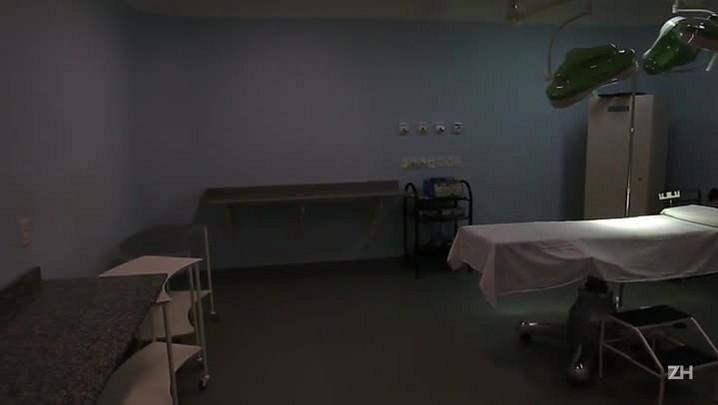 Hospitais agonizam