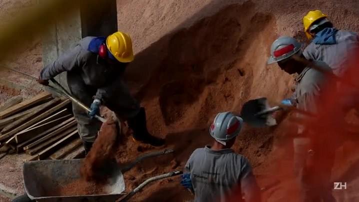Em 1 minuto, veja como estão as obras de ampliação do Hospital de Clínicas