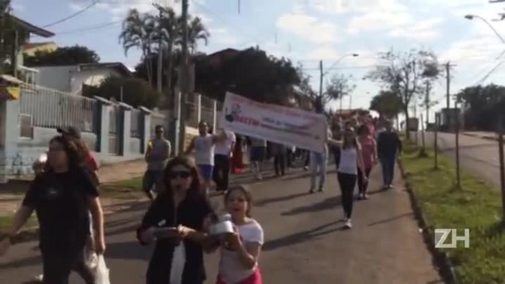 Moradores fazem panelaço por mais segurança no Parque Santa Fé