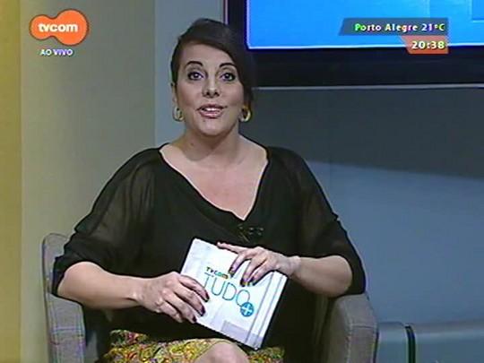 TVCOM Tudo Mais - Patronáveis da Feira do Livro: Tudo+ recebe o escritor Dilan Camargo