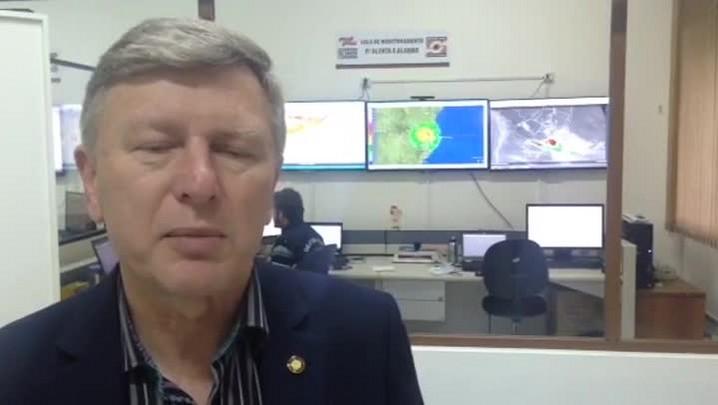 """Secretário da Defesa Civil diz que situação de Santa Catarina \""""é muito preocupante\"""""""